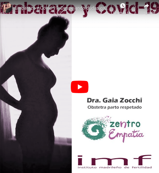 Embarazo y Covid-19. Despejando dudas con la Dra. Zocchi, obstetra.