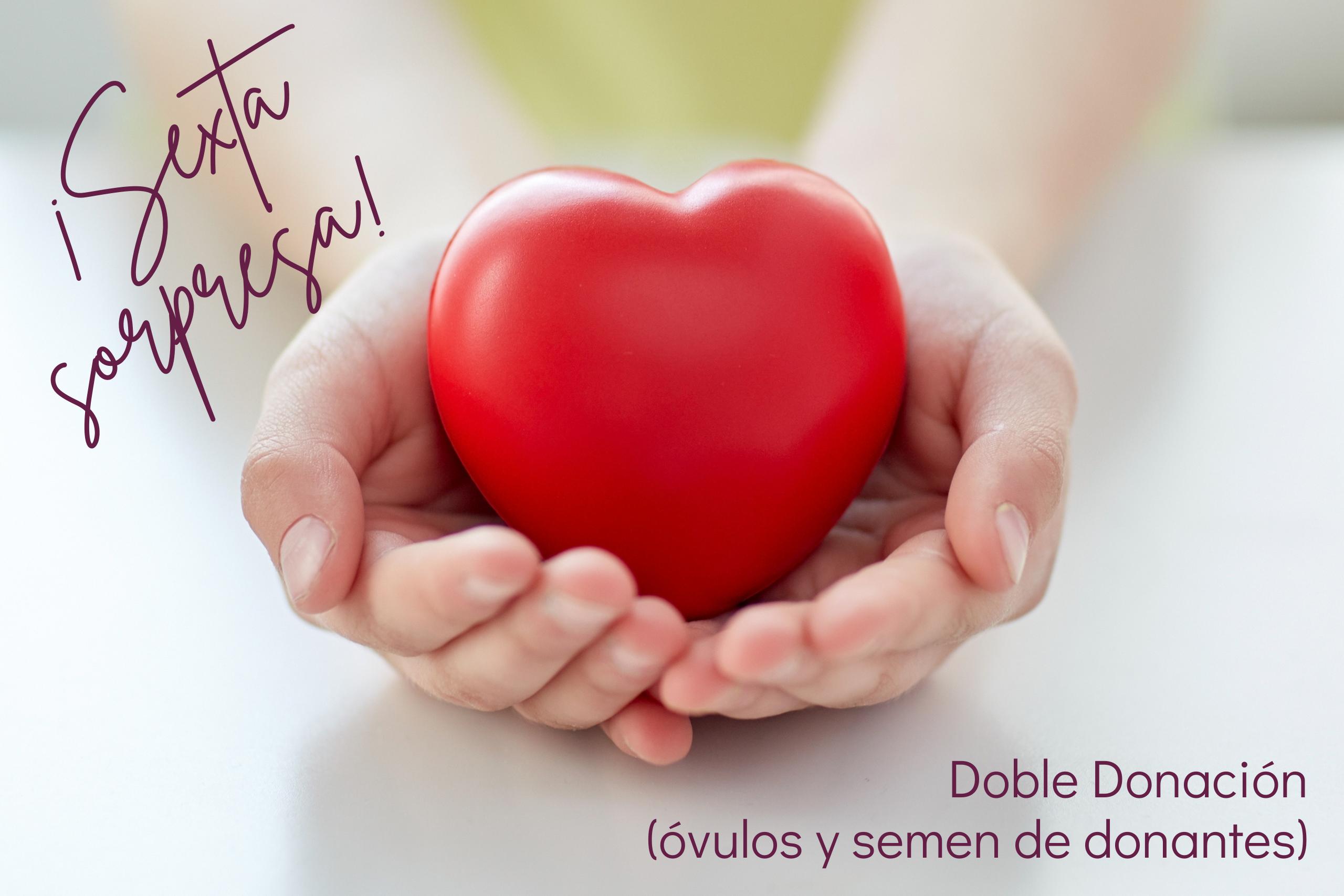 Doble Donación (óvulos y semen de donantes)
